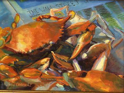 Crabilicious Art Print