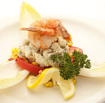 Photograph - Crabmeat by New  Orleans Food