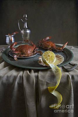 Crabs For Dinner Art Print