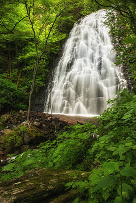 Crabtree Falls Art Print by Photography  By Sai