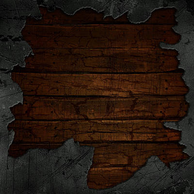 Cracked Concrete And Wood Background Original