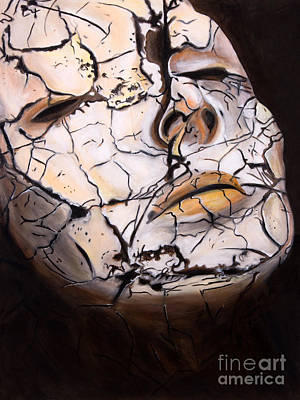 Climate Change Painting - Cracked by Denise Deiloh