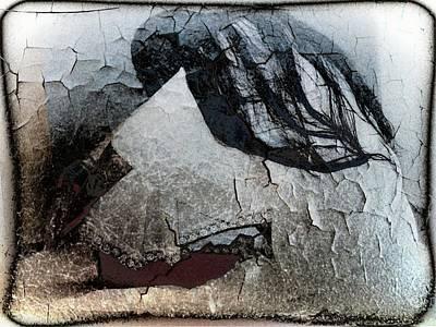 Cracked Dreams Art Print