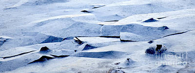 Photograph - Cracked Icescape by Liz Leyden