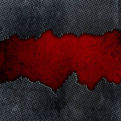 Cracked Metal And Grunge Background Original