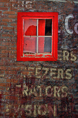 Photograph - Cracked Red by Emily Stauring