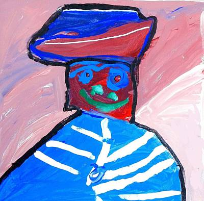 Cracker Jacks Painting - Cracker Jack Kid by Artists With Autism Inc