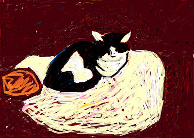 Painting - Crackers And Sophie by Anita Dale Livaditis