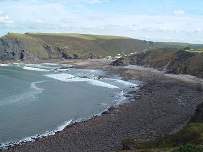 Photograph - Crackington Haven by Richard Brookes