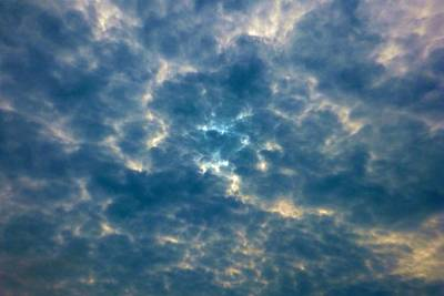 Photograph - Crackled Sky by Marc Philippe Joly