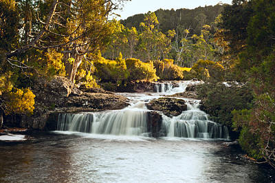 Photograph - Cradle Mountain Waterfall by U Schade