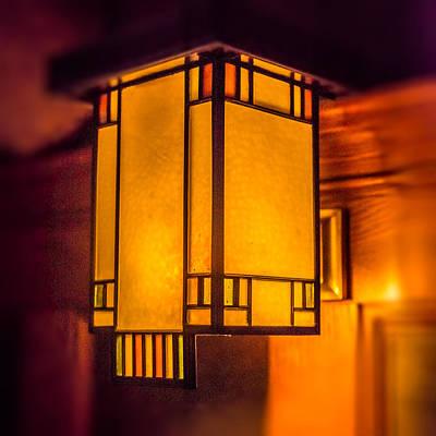 Duluth Photograph - Craftsman Lamp by Paul Freidlund