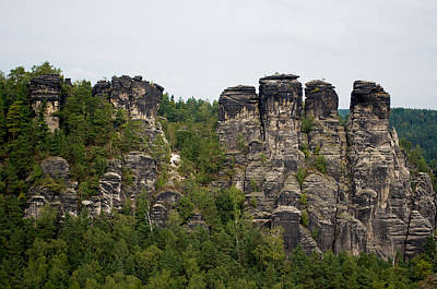 Photograph - Crags Near Rathen by Iryna Soltyska