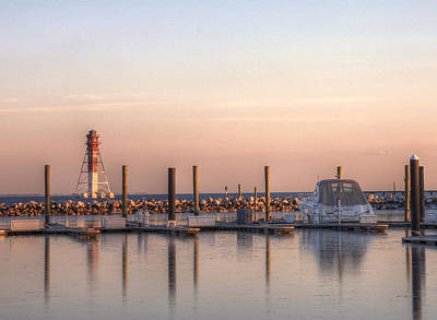 Baltimore Md Photograph - Craighill Channel Rear Lower Range Lighthouse by JC Findley