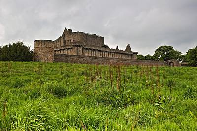 Photograph - Craigmillar Castle by Mike Farslow