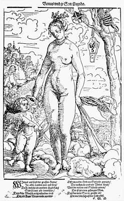 Cranach Venus And Cupid Art Print