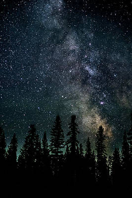 Print featuring the photograph Cranbrook Milkyway by Rob Tullis