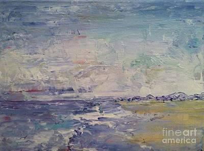 Painting - Cranes Beach  by Jacqui Hawk