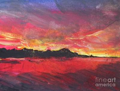 Painting - Cranes Beach Sunset by Jacqui Hawk