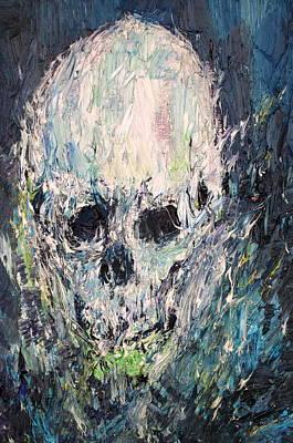 Painting - Cranium by Fabrizio Cassetta