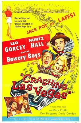 Crashing Las Vegas, Us Poster, Center Art Print