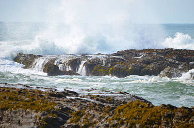 Photograph - Crashing Surf by Deprise Brescia