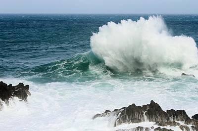 Photograph - Crashing Wave by Paula Guy