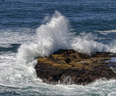 Photograph - Crashing Wave by Wes and Dotty Weber