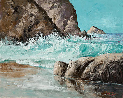 Painting - Crashing Waves by Darice Machel McGuire