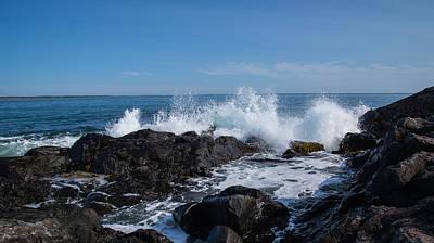 Photograph - Crashing Waves by Darren Langlois