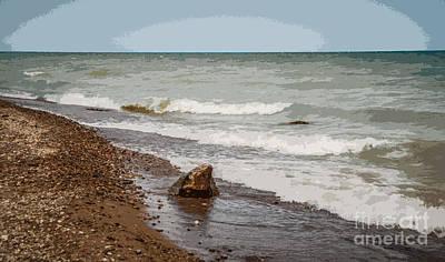 Photograph - Crashing Waves by Grace Grogan
