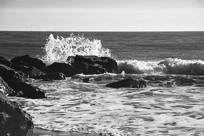 Photograph - Crashing Waves by Jennifer Ancker