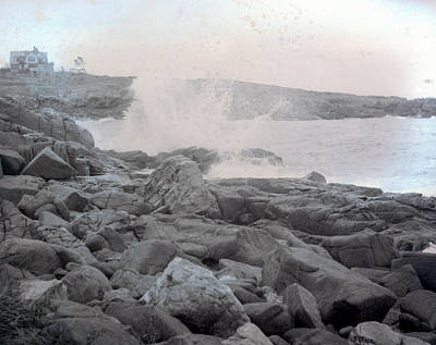 Photograph - Crashing Waves by William Haggart