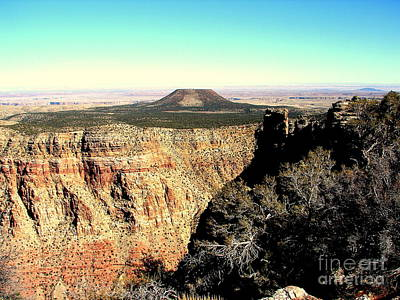 Photograph - Crater At Grand Canyon by John Potts