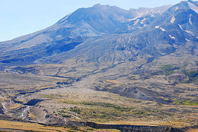 Photograph - Crater At Mount St. Helens 2012 by Connie Fox