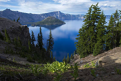 Photograph - Crater Lake 1 by Spencer Bodian