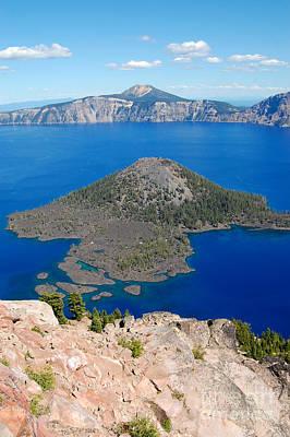 Photograph - Crater Lake  by Debra Thompson