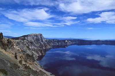Photograph - Crater Lake by Ginny Barklow