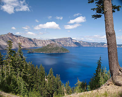 Crater Lake National Park Art Print