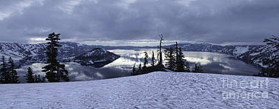 Photograph - Crater Lake Panorama by Stuart Gordon