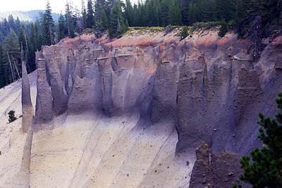 Crater Lake Pinnacles Art Print
