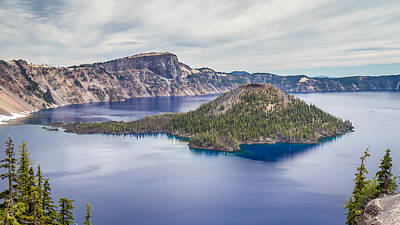 Photograph - Crater Lake Scenic Splendor by Pierre Leclerc Photography