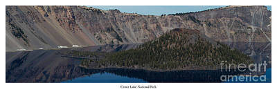 Crater Lake Wall Art - Photograph - Crater Lake by Twenty Two North Photography