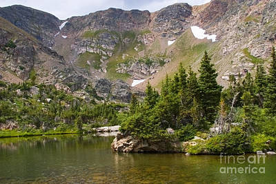 Steven Krull Royalty-Free and Rights-Managed Images - Crater Lakes by Steven Krull