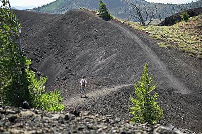 Craters Of The Moon Hiking Trail Art Print