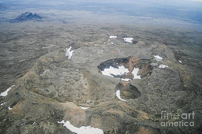 Photograph - Craters by Patricia Hofmeester