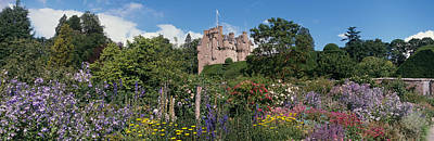 Garden Flowers Photograph - Crathes Castle Scotland by Panoramic Images