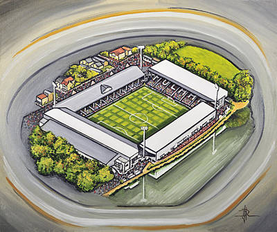 Fulham Painting - Craven Cottage - Fulham Fc by D J Rogers