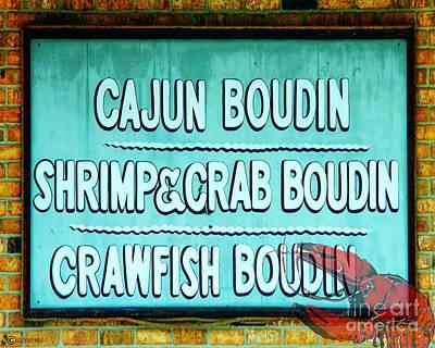 Photograph - Crawfish Boudin by Lizi Beard-Ward