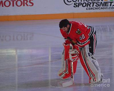 Photograph - Crawford During The Anthem by Melissa Goodrich